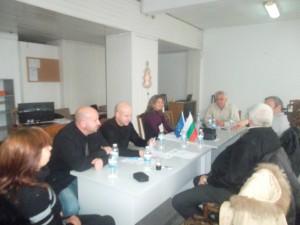 Заседание на Общото събрание на МИГ Гълъбово
