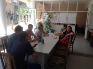 """На 01.09.2014г. се проведе втори информационен ден във връзка с отворена пета покана за прием на проекти по мерките от Стратегията за местно развитие на сдружение """"МИГ Гълъбово 2011"""" в гр. Гълъбово. Присъстващите бяха запознати с основните цели и насоки на сдружение """"МИГ Гълъбово 2011"""" и приетата стратегия, както и отварянето на петата покана за кандидатстване по мерки 111,121, 312, 322 и 331"""