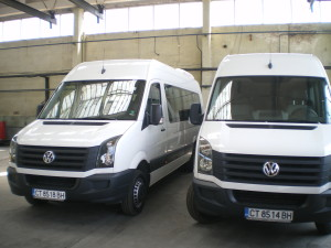 """Изпълнен проект На """"Лидер - 2000"""" ЕООД по проект за финансиране """"Повишаване конкурентоспособността на """"Лидер – 2000"""" ЕООД в сектора услуги за населението с автобусен транспорт. С настоящият проект кандидата закупи Транспортни средства /автобус/ Volkswagen Crafter – 2 бр.. Стойността на безвъзмездната финансова помощ е 136 494,17 лв."""