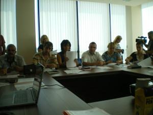 """На 06 август чрез СНЦ """"МИГ Гълъбово 2011"""" се проведе обучение на тема """"Финансово управление на проекти по ПРСР"""". На обучение присъстваха представители на фирми и организации бенефициенти , членове на УС И ОС и екипа на МИГ."""