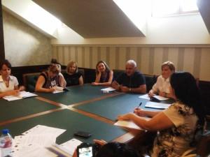 """На 28 и 29 юли 2015 г.МИГ Гълъбово взе участие във форум на тема """"Ролята на местните лидери при изпълнение на Стратегията за местно развитие"""" Темата на форума е разработена специално за нуждите на Местните инициативни групи в България по мярка 431 """"Управление на местни инициативни групи, придобиване на умения и постигане на обществена активност на съответната територия за МИГ, прилагащи стратегии за местно развитие"""" от Програма за развитие на селските райони 2007-2013 г., ОС 4 – Лидер, и е насочена към екипа на МИГ. Форумът включваше теоретични знания, примери, както и време за дискусии."""