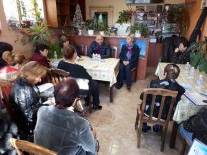 Информационна среща в с. Априлово 11.12.17.