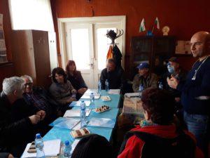 Информационна среща в с. Бяло поле 05.12.17.
