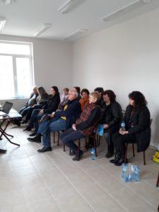 Информационна среща в с. Тракия 04.12.17.