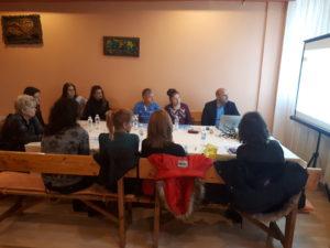 """Темата на обученията е """"Мерки по СВОМР и изисквания при кандидатстване"""" 16,11,2017"""