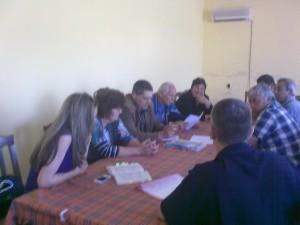 Информационна среща в с. Помощник на 07.05.2013 г.