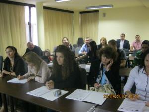 """Екипът на СНЦ """"МИГ Гълъбово 2011"""" участва в двудневен форум """"Управление, мониторинг, оценка и актуализиране на Стратегии за местно развитие"""" в Еко-хотел """"Здравец"""" на 24.09.2013 г."""