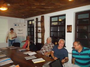 """На 16-ти и 17-ти юли /четвъртък и петък / в Комплекс """"Старосел"""" МИГ Гълъбово взе участие в двудневен форум на тема """"Пътят към успеха. Тайни на доброто представяне, презентиране, убеждаване и публично говорене"""". Организирането и провеждането на мероприятието се изпълни от """"Дениси Консулт"""" ЕООД и е разработено за нуждите на МИГ в България по мярка 431 от Програма за развитие на селските райони 2007-2013 г., ОС 4 – Лидер. Форумът е насочен към всички регистрирани на територията на България – Местни инициативни групи, изпълняващи своите Стратегии за местно развитие. Форумът включи теоретични знания, практически упражнения и примери, както и време за дискусии."""