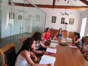 """На 4 и 5 август 2015 – МИГ Гълъбово 2011 участва в форумна тема: """"Ефективно използаване на ресурсите в туризма"""". Темата на форума е разработена специално за нуждите на Местните инициативни групи в България по мярка 431 """"Управление на местни инициативни групи, придобиване на умения и постигане на обществена активност на съответната територия за МИГ, прилагащи стратегии за местно развитие"""" от Програма за развитие на селските райони 2007-2013 г., ОС 4 – Лидер, и е насочена към екипа на МИГ. Форумът включваше теоретични знания, примери, както и време за дискусии."""